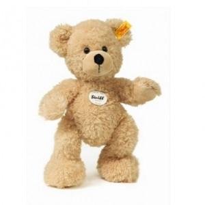 Fynn Teddybeer, beige, 18 cm