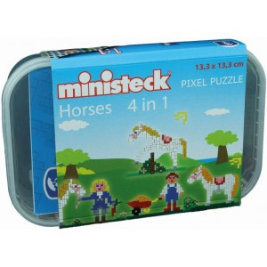 Ministeck Horses 4-in-1...