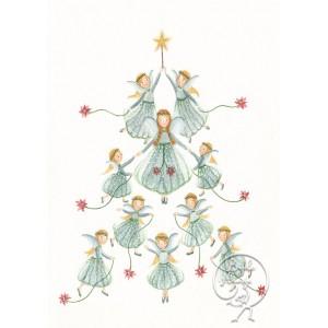 Kaart Christmas Angels...