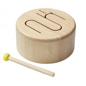 Houten trommel natural