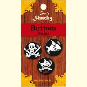 Sharky buttons