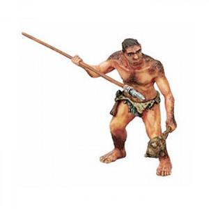 Homme préhistorique avec...