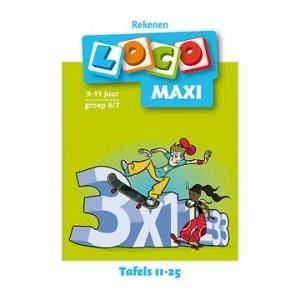 Loco maxi: Tafels 11 - 25...