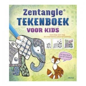zentangle -tekenboek voor kids
