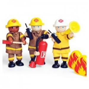 3 brandweermannen