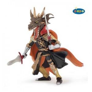 Fire dragon man