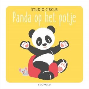 Panda op het potje (karton)