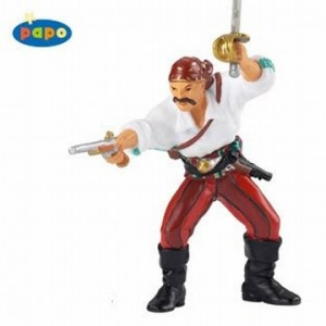 piraat met pistool