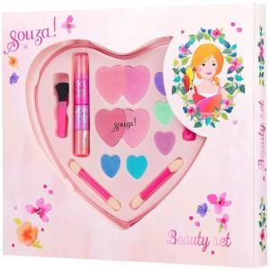 Make-up set Hart (groot)