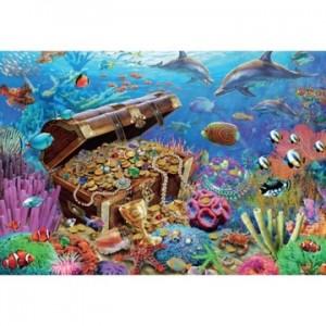 Puzzel Onderwater Schat...