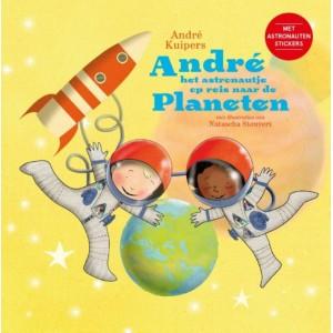 André het astronautje op...