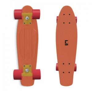 vintageboard skateboard oranje