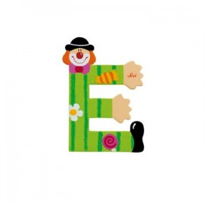 Sevi letter Clown E.