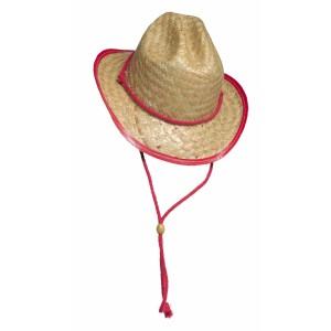 strooien cowboy hoed
