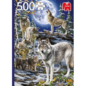 Puzzel PC Wolf Pack in...