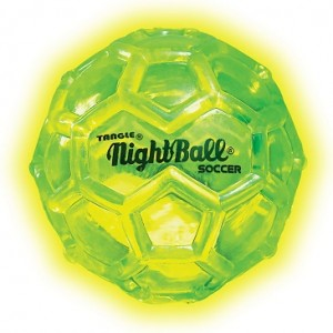mini nightball geel blauw...