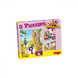 3 puzzels met onzin -...