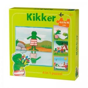 Kikker 4-in-1 puzzel