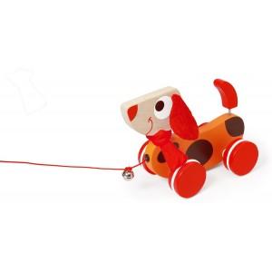Trekdier hond groot rood Oscar