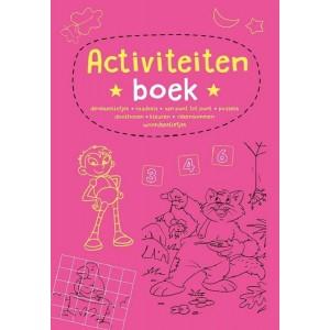 Activiteitenboek 4 roze met...