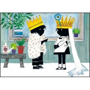 Jip en Janneke als bruid en...