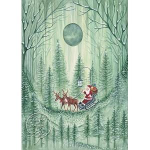 Santa (10,5 x 15 cm)