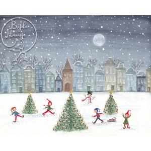 Christmas Skating (10,5 x...