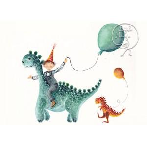 Dino (10,5 x 15 cm)