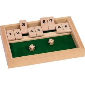 Shut the box dobbelspel...