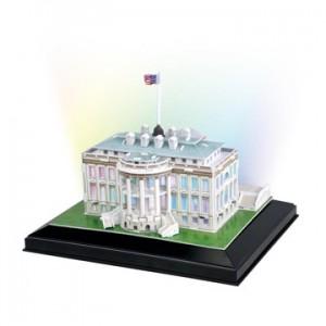 3D White House (LED Lighting)