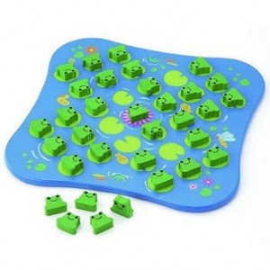 frog solitaire