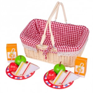 Picknickmand gevuld (12 delig)