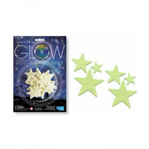 Glow in the dark sterren