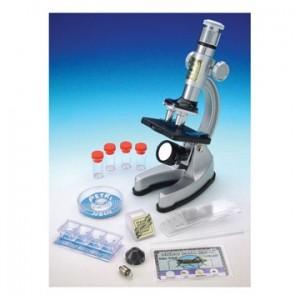 Microscoop set met licht