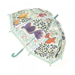 Paraplu bloemen & vogels