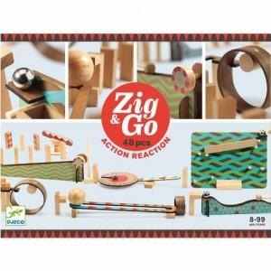 Zig & Go Actie-reactiespel...