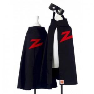 verkleedmantel Zorro mt. 104-128