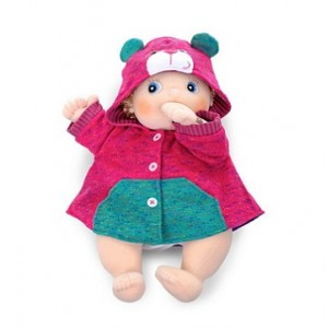Rubens baby: roze jas...