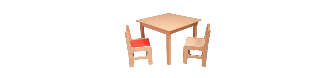 Tafeltjes en stoeltjes voor kinderen vind je bij Kleine Reus!