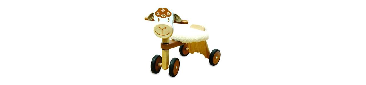 Lopen, hobbelen en rijden speelgoed vind je bij Kleine Reus!