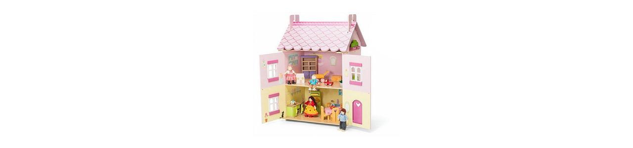 Poppenhuizen en accessoires vind je bij Kleine Reus!